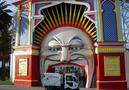 Streets Ahead - Scarab Minor in front of Luna Park